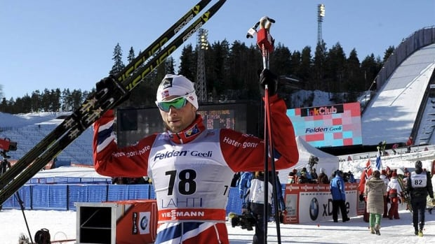 After a hectic start, Petter Northug of Norway said he had control at the end, landing him 4th place in the 15-km mass start race Saturday