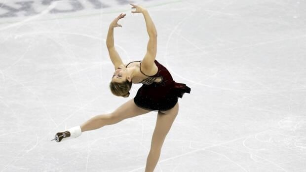 Ashley Wagner competes in the ladies short program at the U.S. figure skating championships on Thursday in Omaha, Neb.