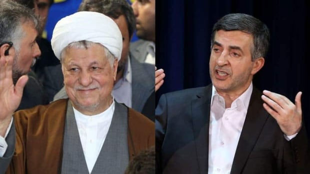 Former Iranian president Akbar Hashemi Rafsanjani and Esfandiar Rahim Mashaei, a close confidant of President Mahmoud Ahmadinejad, have been barred from running in next month's presidential election by the Guardian Council.