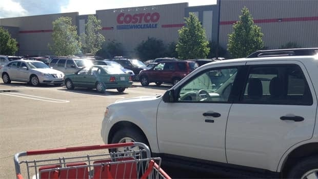 The child was allegedly left inside a vehicle at this south Edmonton Costco on May 27.