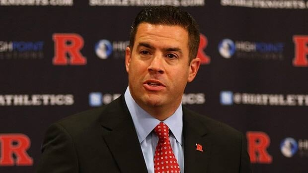 Tim Pernetti, at a press conference late in 2012 announcing that Rutgers was moving to the Big Ten, won't be around to see the fruits of that labour.