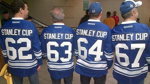 A group of Leafs fans came to Wednesday's game with memories of the last time Toronto celebrated a Stanley Cup win.