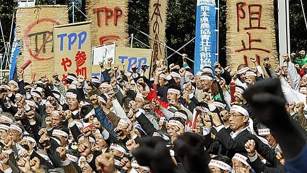 Anti-TPL trade talks, like this one involving mostly farmers just outside Tokyo, have been a fixture in Japan for most of the past two years. They have not stopped the government, however, from deciding to become the 12th member next month.