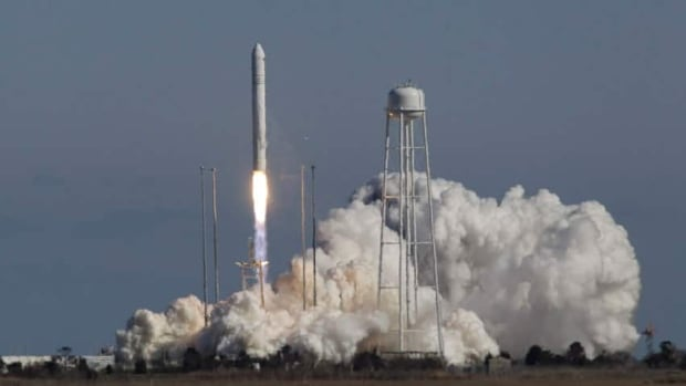 Orbital Sciences Corp.'s Antares rocket lifted off from the NASA facility on Wallops Island, Va., Sunday. Ten minutes later, the launch was declared a success.