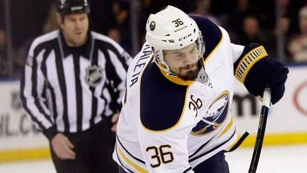 Buffalo Sabres forward Patrick Kaleta was suspended five games on Monday by the NHL for a boarding incident.