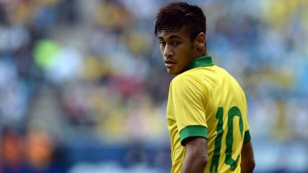 Newly signed FC Barcelona striker Neymar of Brazil is one of several stars in Confederations Cup.