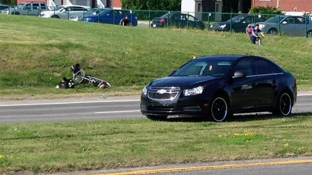 Police are investigating the circumstances of the crash on Matte Boulevard this morning.