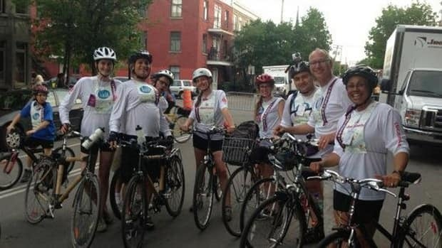 CBC's team gets ready to roll in Tour la Nuit.