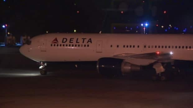 This Delta Airlines flight had to make an emergency landing at the Halifax Stanfield International Airport on Wednesday night.