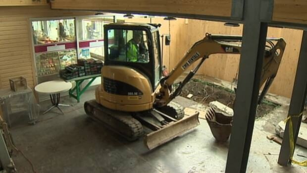 Extensive renovations are taking place at the Halifax Seaport Farmers' Market.