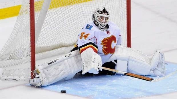 Calgary Flames goalie Miikka Kiprusoff was placed on injured reserve last week.