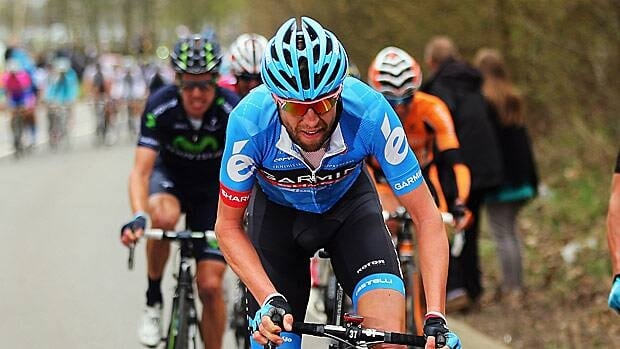 Ryder Hesjedal, seen at the Liege-Bastogne-Liege road race on April 21 in Liege, Belgium, will begin his quest to repeat on Saturday.