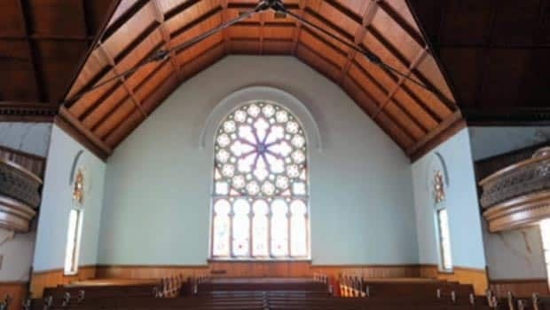 Virgil Hammock says he has support from town council, Renaissance Sackville and other local groups to save the historic church.