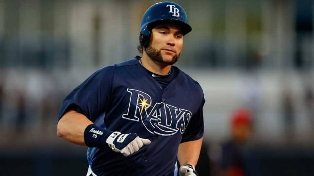 Tampa Bay Rays designated hitter Luke Scott was placed on the 15-day DL on Sunday.