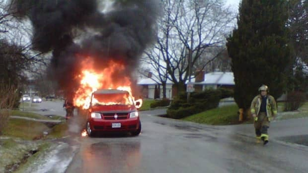 The Bujari family wants to know what caused their van to catch fire last Thursday.