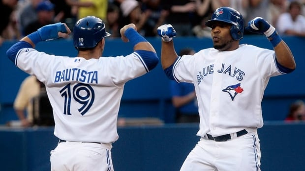 The Toronto Blue Jays two home run sluggers are heading to New York for the 2013 All-Star Game. Major League Baseball announced that Jose Bautista and Edwin Encarnacion, along with relief pitcher Brett Cecil, made the American League team on Saturday.