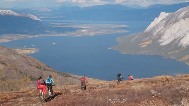 Montana Mountain near Carcross is one of the many places with mountain biking trails in the territory.