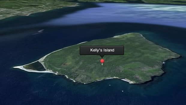 A woman was stranded on a beach on Kelly's Island in Conception Bay on Tuesday morning.