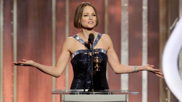 Fosters's acceptance speech at the Golden Globes was anything but predictable as the veteran actress seized control of what is every year a noisy, boozy ballroom.