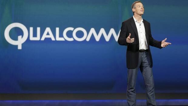 Qualcomm CEO Paul Jacobs speaks during the keynote address at the Consumer Electronics Show, Monday, Jan. 7, 2013, in Las Vegas.