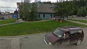 mi-whitehorse-united-church-with-driver-and-dog-google