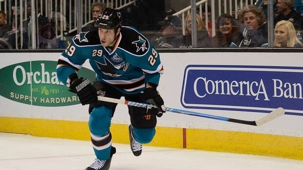 Ryane Clowe scored 101 goals and 170 assists in 423 career games with San Jose