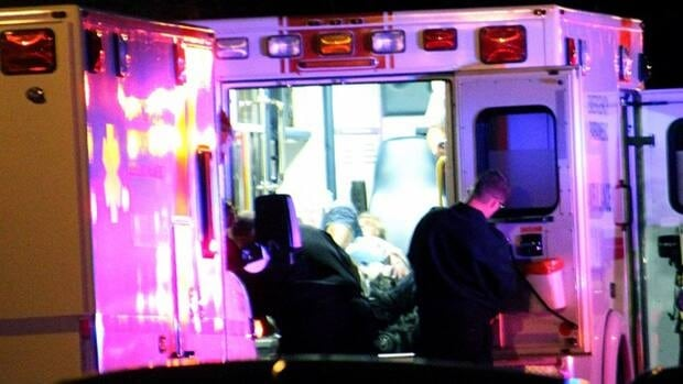 A man and woman were taken to hospital with gunshot wounds after a double shooting in Coquitlam, B.C. Thursday night.