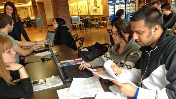 The peer-to-peer tax clinic at Cambrian College has seen a sharp rise in use since last year.