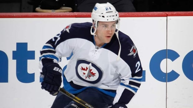 Winnipeg Jets blue-liner Grant Clitsome was drafted by Columbus in the ninth round, 271st overall, in the 2004 NHL Draft.
