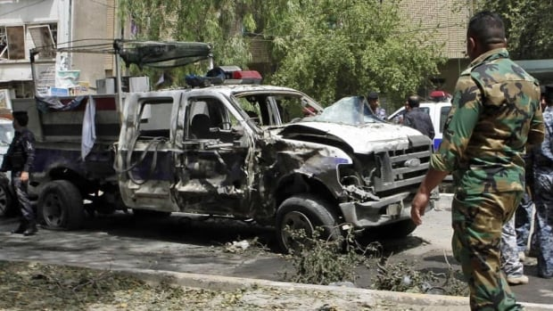 Several bombs exploded across Iraq on Thursday killing at least 30 people, including in the commercial area of Karradah in Baghdad.