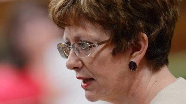 Human Resources Minister Diane Finley, seen during question period in Ottawa on April 26, issued a request for investors and ideas on what social service programs they would like to invest in. Her department hopes to launch 'investment-ready' pilot programs soon.