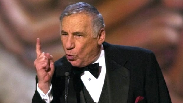 Mel Brooks is shown in 2001 after winning a Tony Award for his stage version of The Producers. Now 86, he'll be given a lifetime achievement award this summer by the American Film Institute.