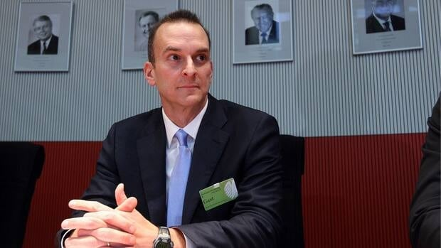 USADA chief executive officer Travis Tygart during a committee of Germany's Bundestag to give an insight into how the agency brought down cycling star Lance Armstrong.