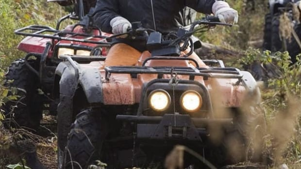 A 70-year-old man died after the ATV he was driving rolled over in a farmer's field east of Carman.