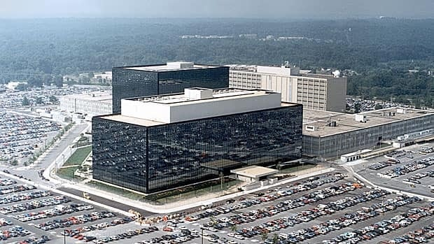 The National Security Agency (NSA) headquarters building in Fort Meade, Maryland, the biggest owner of personal data anywhere in the world.