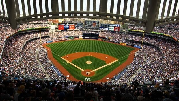 Tests done last year at Yankee Stadium experimented with the Hawk-Eye animation systems.