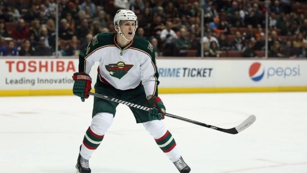 Justin Falk, now of the New York Rangers, played in 112 regular-season and playoff games with the Minnesota Wild.