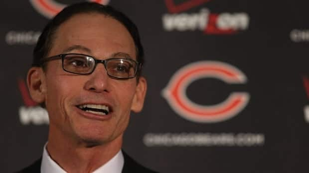 Marc Trestman gave an expansive presentation upon being introduced Thursday as new coach of the Chicago Bears.