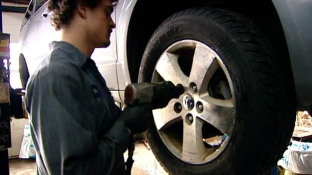 In Nova Scotia, it's illegal to operate a vehicle with studded tires between May 1 and Oct. 14.