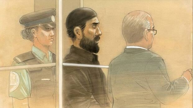 The arrest of Raed Jaser, centre, and Chehib Esseghaier, not pictured, on April 22 for an alleged plot to derail a train between Toronto and New York has renewed questions about al-Qaeda's presence in Canada.