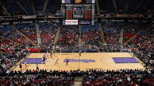 The Kings in action on December 23, 2012 at Sleep Train Arena in Sacramento, California.