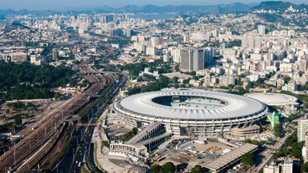 Macarana Stadium in Rio de Janeiro, Brazil, is the site of the Confederations Cup final on June 30.