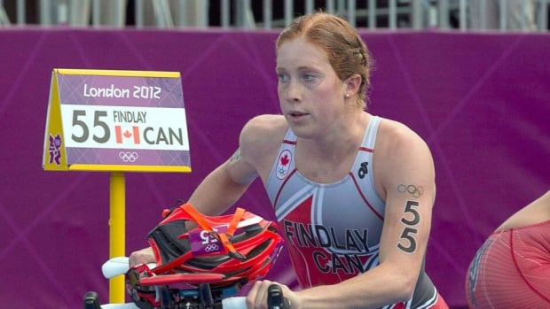 Paula Findlay, the No. 1 ranked women's triathlete, said this win is a small stepping stone in a long rebuild after placing a disappointing last-place finish in the distance race at the 2012 London Games.