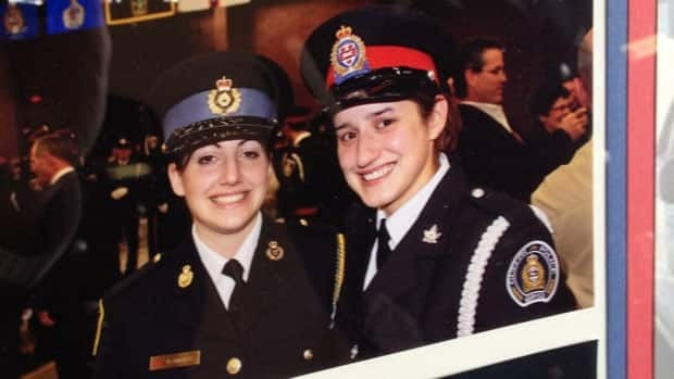 The 26-year-old constable, pictured on the right, died in the line of duty after her cruiser had a head-on collision with a Guelph Transit bus on March 14, 2013.