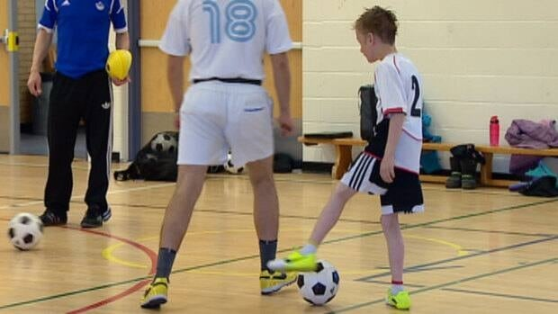 The Alberta Soccer Association's Soccability program gets disabled adults and children playing the game.