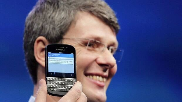 BlackBerry has announced that its new Q10 smartphone — the one with a physical keypad — will make its global debut in Canada on May 1.