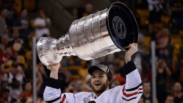 Michael Frolik is coming off a Stanley Cup win with the Chicago Blackhawks last week.