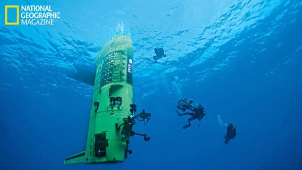 In National Geographic magazine's June cover story, Cameron wrote about his journey in the Deepsea Challenger, which made him the first person to complete a solo dive to the Mariana Trench.