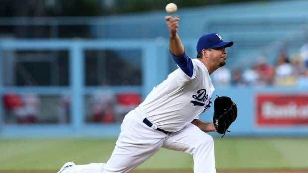 Los Angeles Dodgers pitcher Josh Beckett is 0-5 with a 5.19 ERA in eight starts and hasn't pitched since May 13.