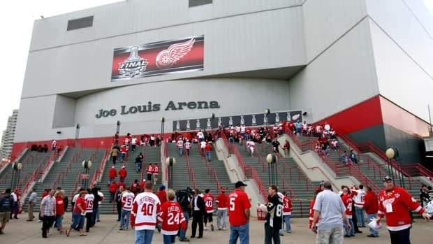Joe Louis Arena, seen in a file photo, first opened to the public in December 1979.